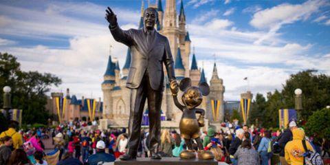 Statue, Walt disney world, Landmark, Monument, Amusement park, Park, Tourism, World, Sculpture, Tourist attraction,