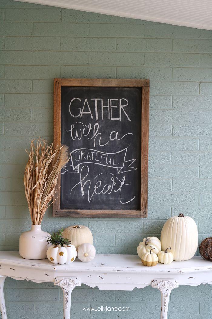 55 Easy Fall Decorating Ideas