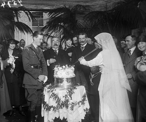 1910 wedding cake