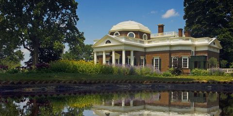 Estate, Building, Property, Reflecting pool, House, Mansion, Home, Architecture, Real estate, Reflection,