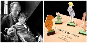 Christopher Robin and A.A. Milne