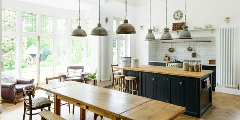 Sofas Chairs In Kitchens Is Officially A Thing
