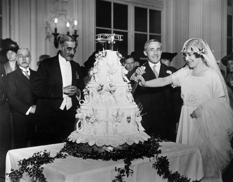 1920 wedding cake