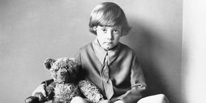 the real Christopher Robin from Winnie the Pooh