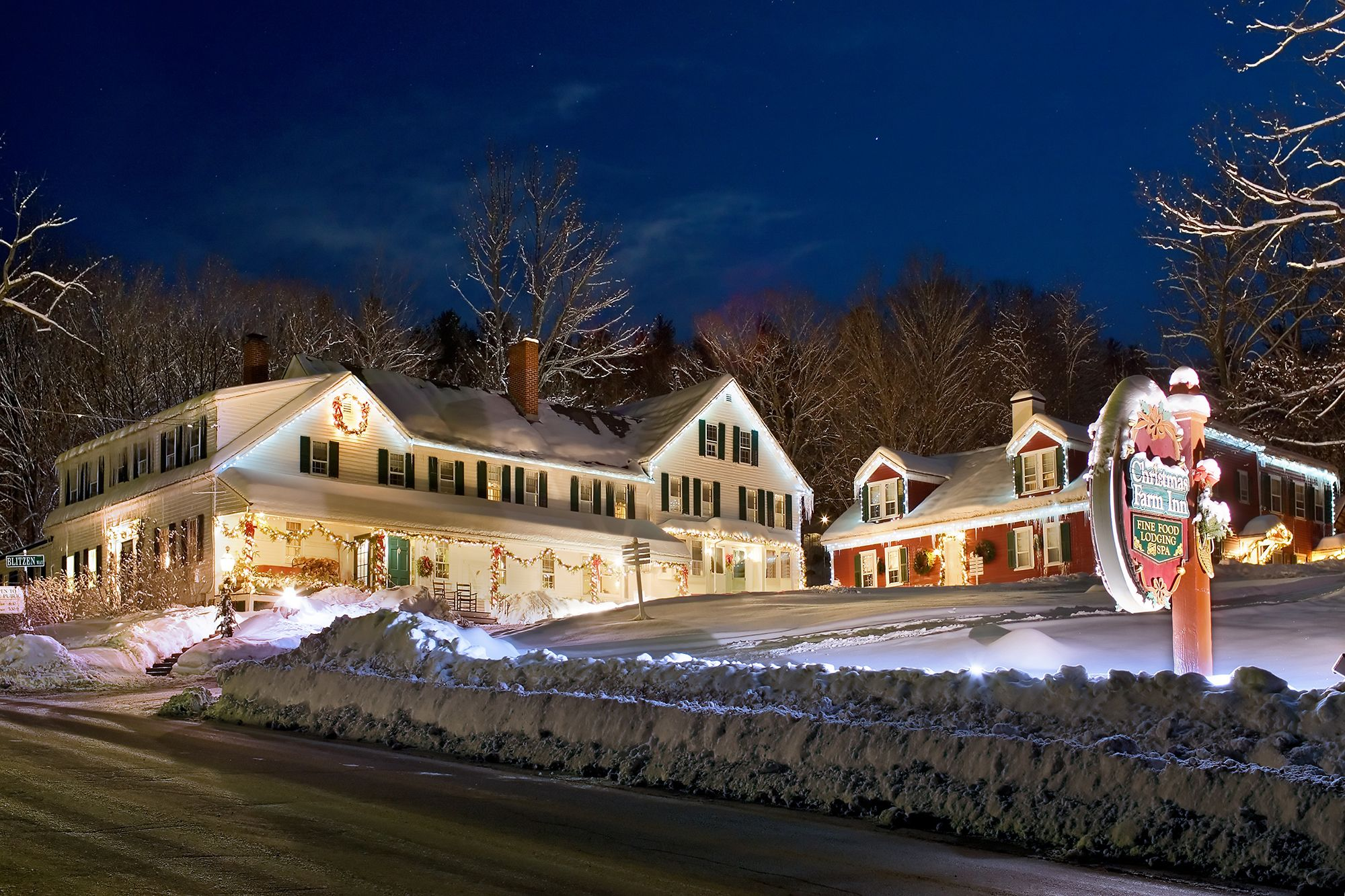 christmas farm inn spa inn that is christmas year round