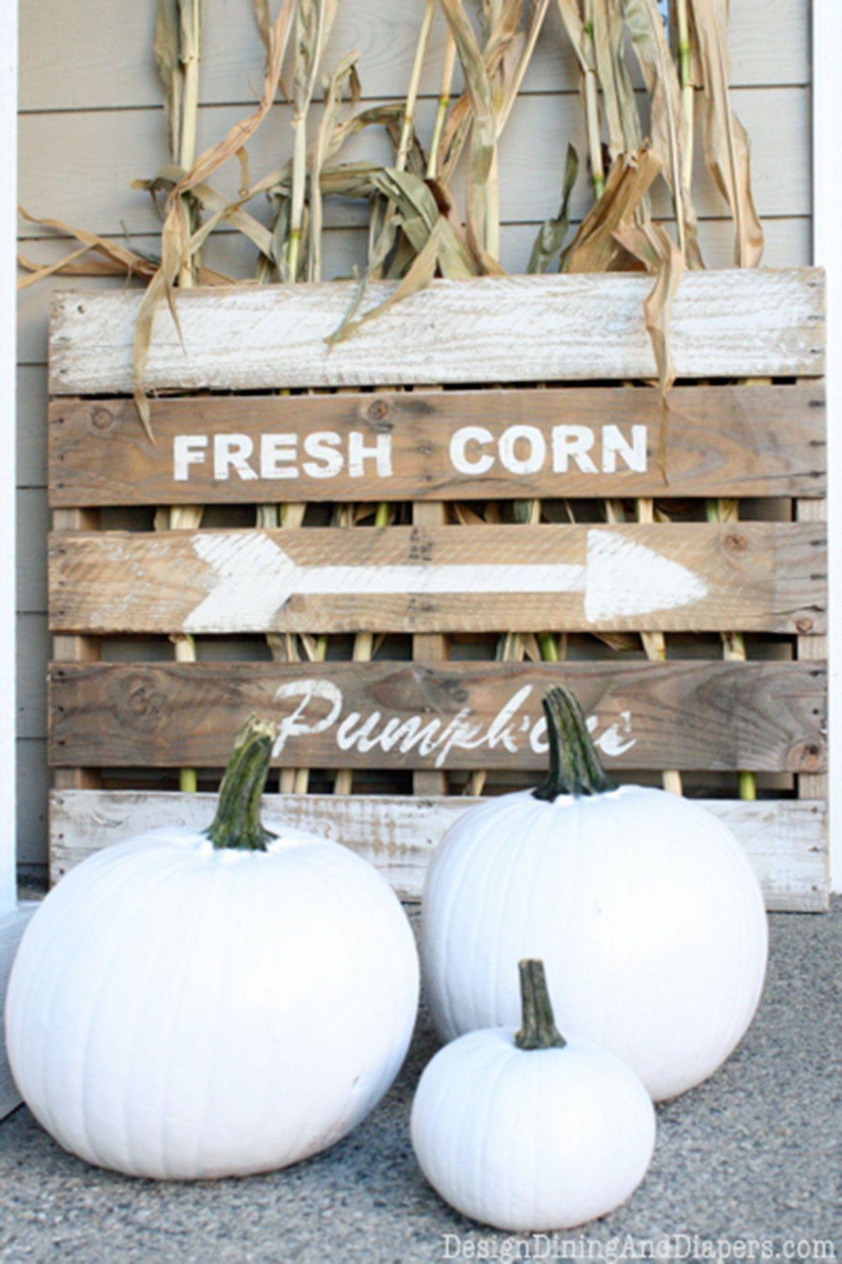 outdoor halloween decorations sign