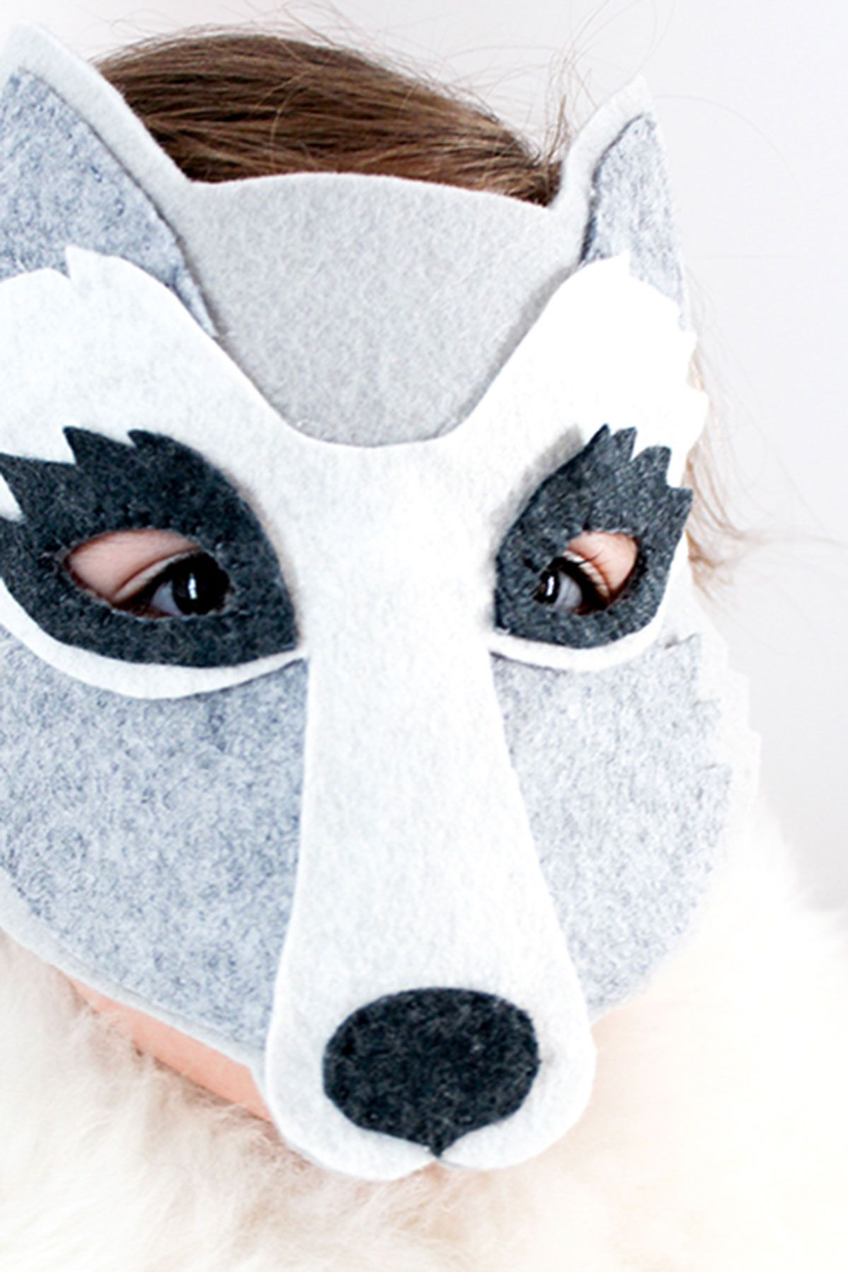 picture relating to Printable Wolf Mask Template for Kids named 25 Very simple Do it yourself Halloween Masks - How In the direction of Deliver a Halloween Mask