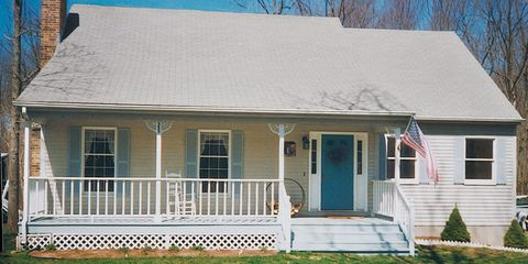 Property, Home, House, Real estate, Residential area, Roof, Stairs, Porch, Building, Siding,