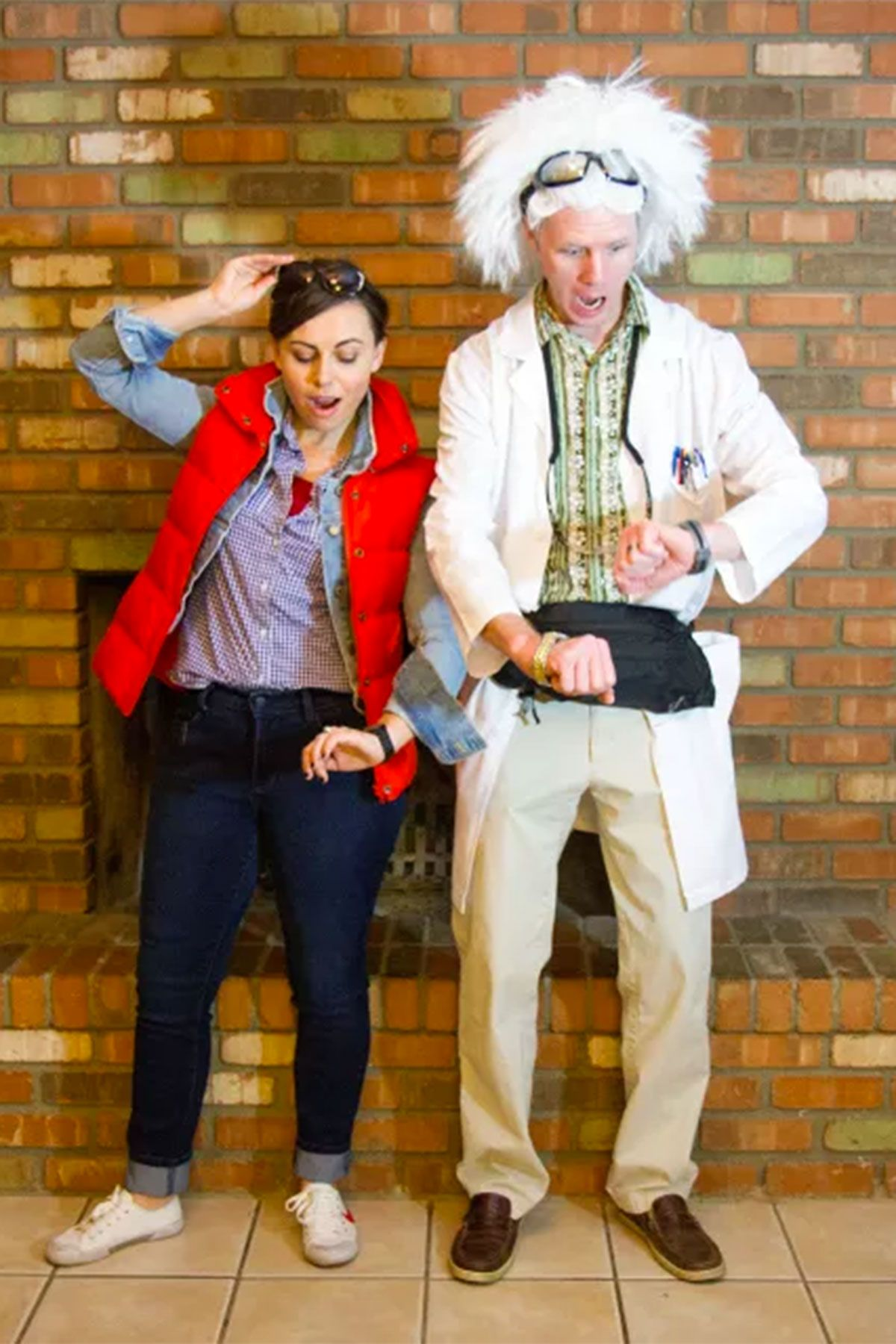 20 diy couple halloween costumes - easy homemade costume ideas for
