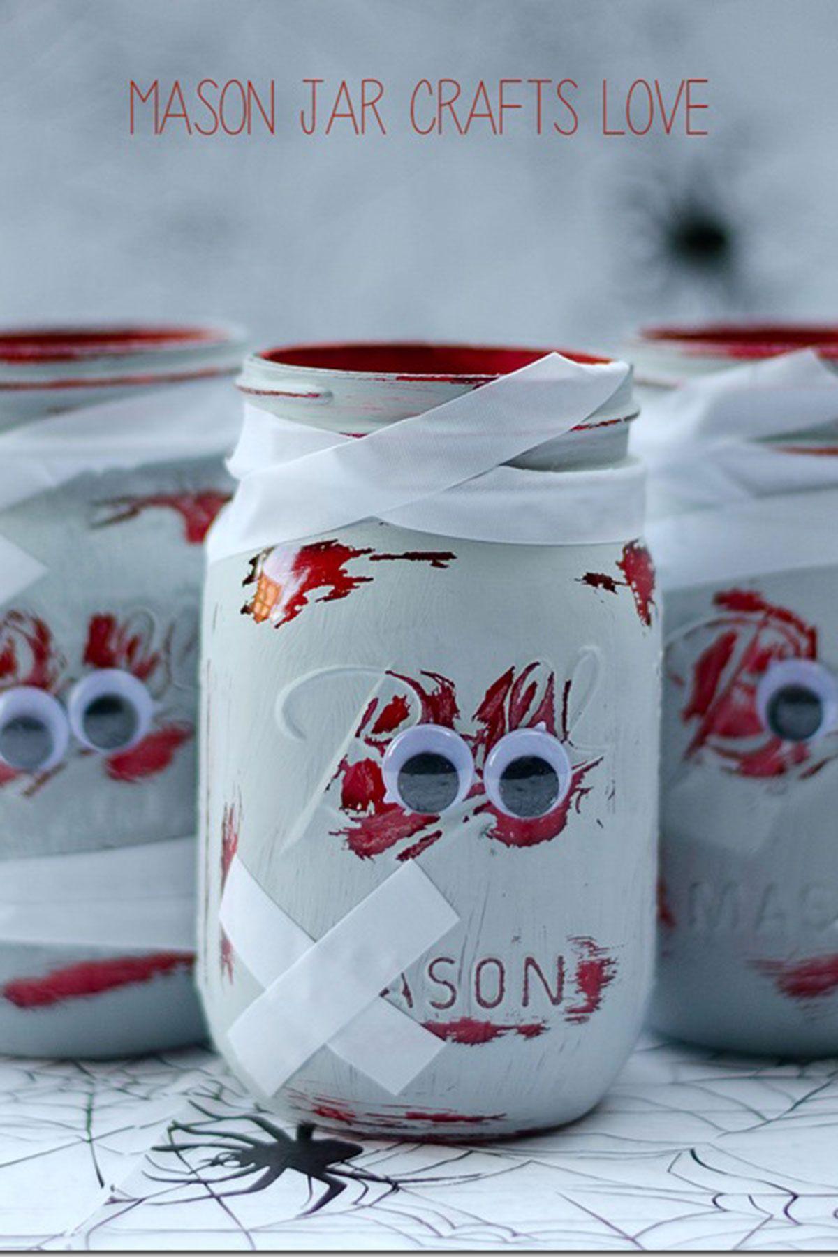 35 Halloween Mason Jars Craft