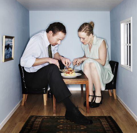 Sitting, Room, Floor, Interior design, Flooring, White-collar worker, Furniture, Stock photography, Conversation, Photography,