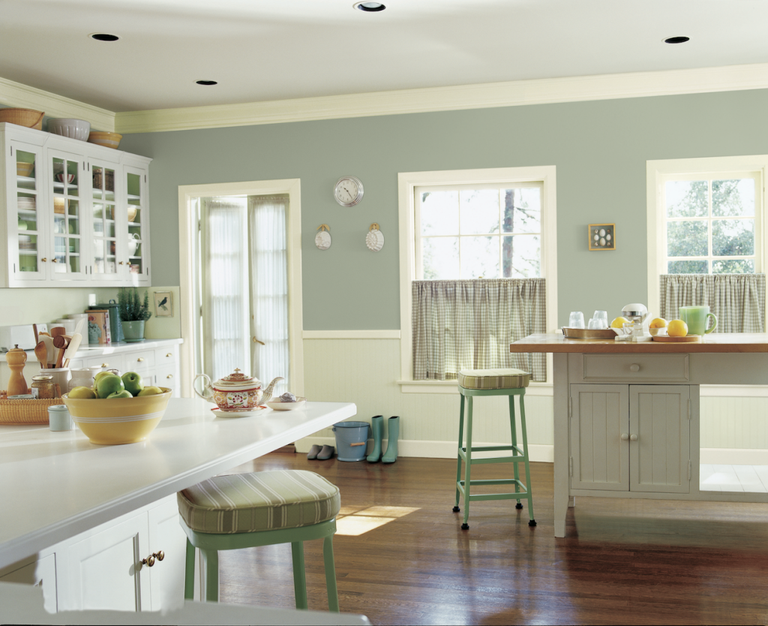 Paint Colors For A French Country Kitchen