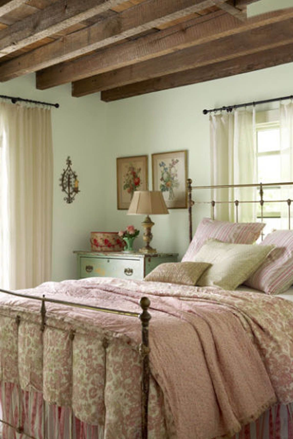 Country Bedroom Decorating Ideas.  30 Cozy Bedroom Ideas How To Make Your Room Feel