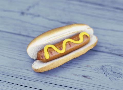 is a hot dog a sandwich