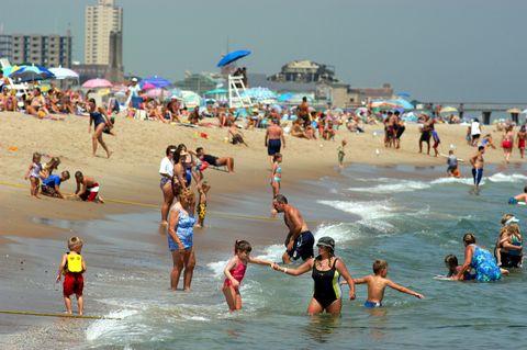 Fun, Tourism, Leisure, Summer, People on beach, Beach, Holiday, Vacation, Swimwear, Swimsuit top,