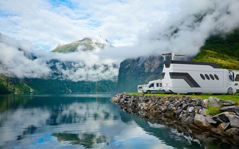 Nature, Natural landscape, Reflection, Fjord, Sky, Mountain, Mountainous landforms, Highland, Hill station, Mountain range,