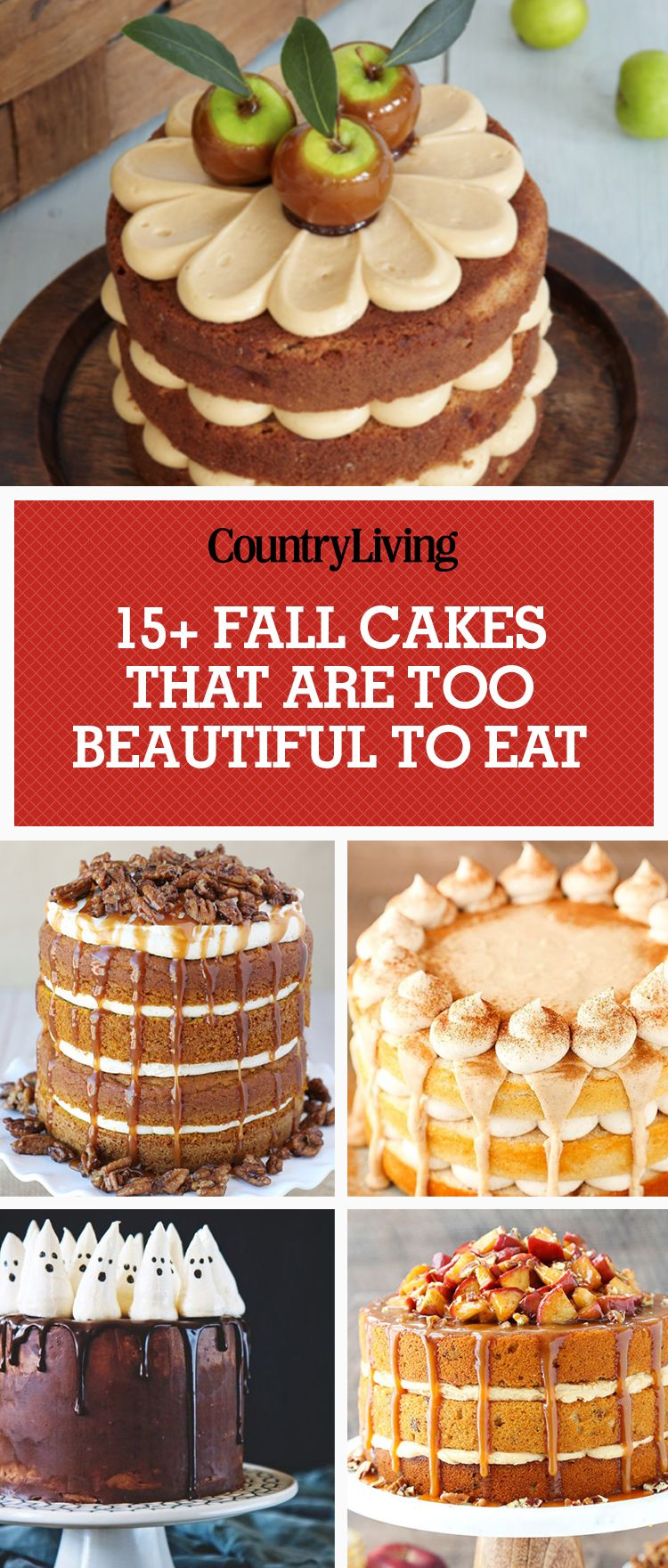 25 Best Fall Cake Recipes Autumn Cake Flavors