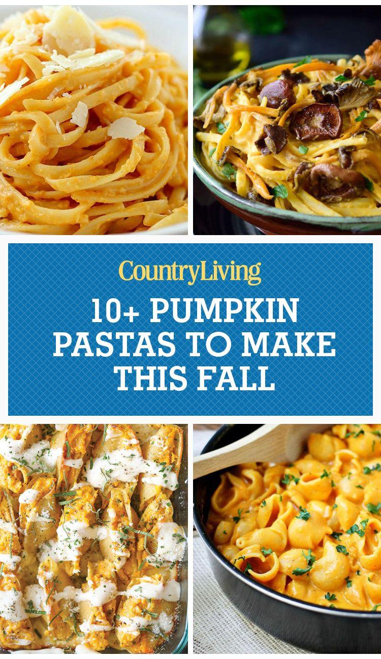 13 Best Pumpkin Pasta Recipes - How to Make Pumpkin Pasta