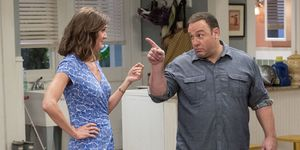 Erin Hayes and Kevin James in 'Kevin Can Wait'