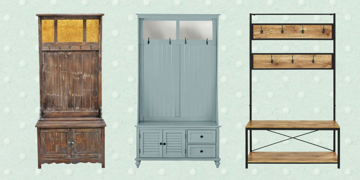 10 Best Hall Trees - Small Coats Racks for Hallway