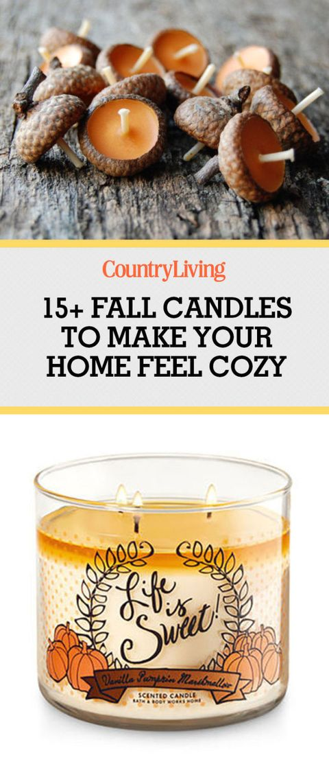 Fall Candles Top Scented Soy For