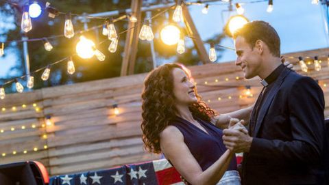 At Home in Mitford starring Andie MacDowell and Cameron Mathison