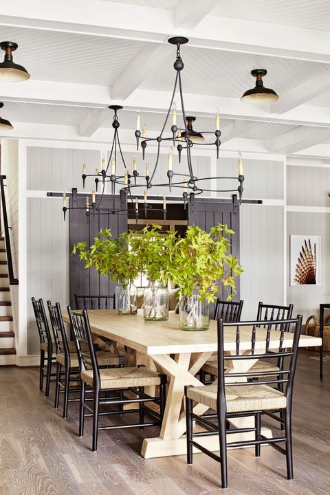 Max Kim Bee Styling By Sarah Cave Designer Thom Filicia Farmhouse Tables