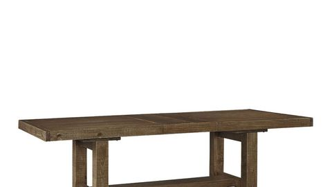 Wood, Table, Furniture, Line, Hardwood, Rectangle, Wood stain, Beige, Outdoor furniture, Bench,