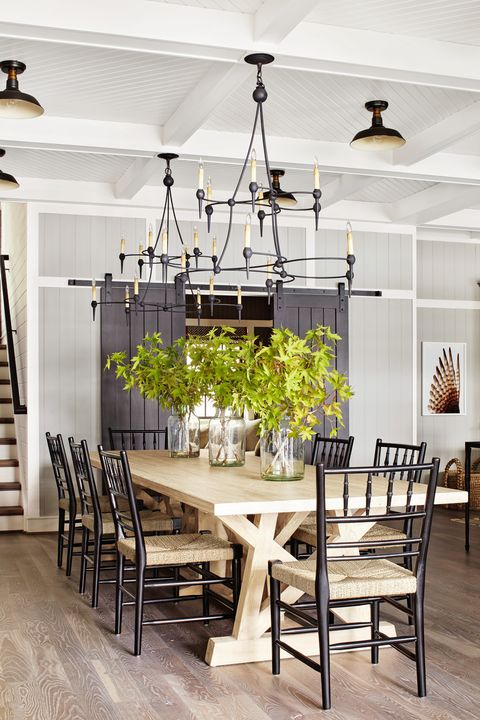 Photograph By Max Kim Bee Styling Sarah Cave Design Thom Filicia Trestle Table