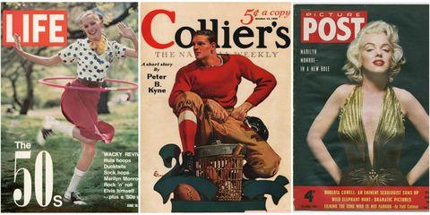 Magazine, Retro style, Publication, Poster, Album cover, Vintage clothing, Pattern, Vintage advertisement, Art, Illustration,