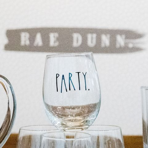 Here S Your First Look At Rae Dunn S New Glassware Line Rae Dunn