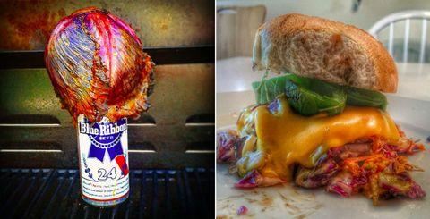Junk food, Food, Dish, Cuisine, Cheeseburger, Ingredient, Meal, Fast food, American food, Recipe,