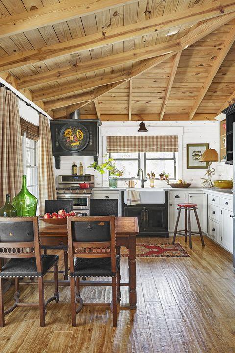 Room, Property, Building, Furniture, Interior design, Wood flooring, Home, Ceiling, Floor, House,
