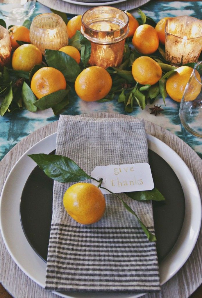 40+ Thanksgiving Table Settings - Thanksgiving Tablescapes ...