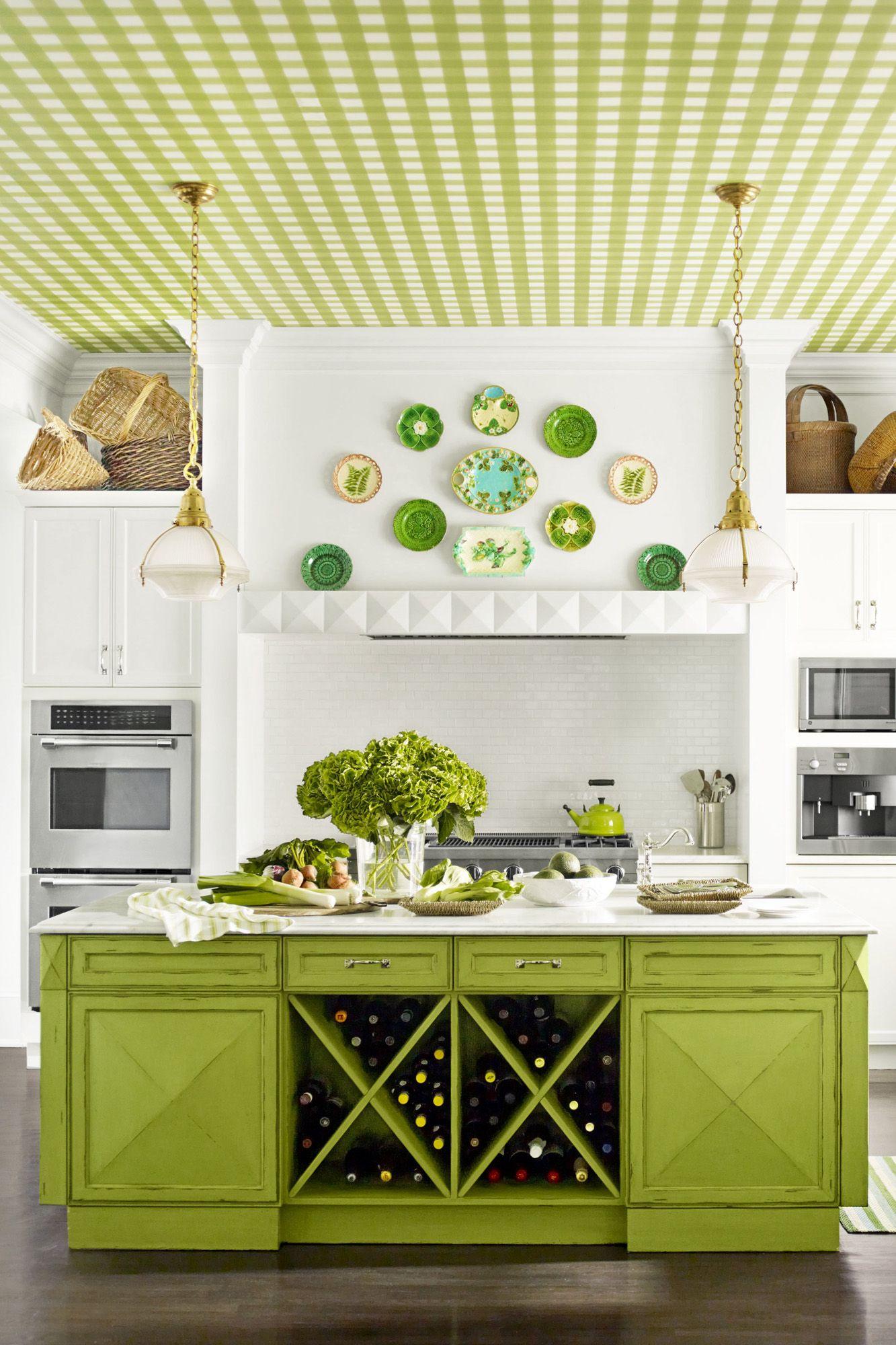 Green Kitchen Decorating Ideas Green Kitchen Decor