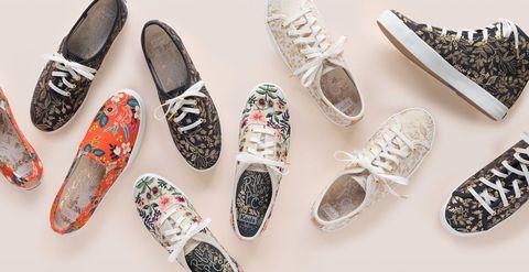 Footwear, Shoe, Sneakers, Plimsoll shoe, Espadrille, Ballet flat, Brand, Athletic shoe,