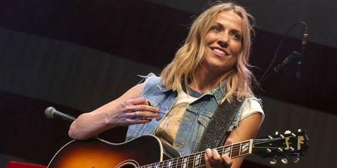 Sheryl Crow at Willie Nelson's 4th Of July Picnic 2017