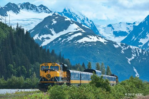alaska railroad's denali star train