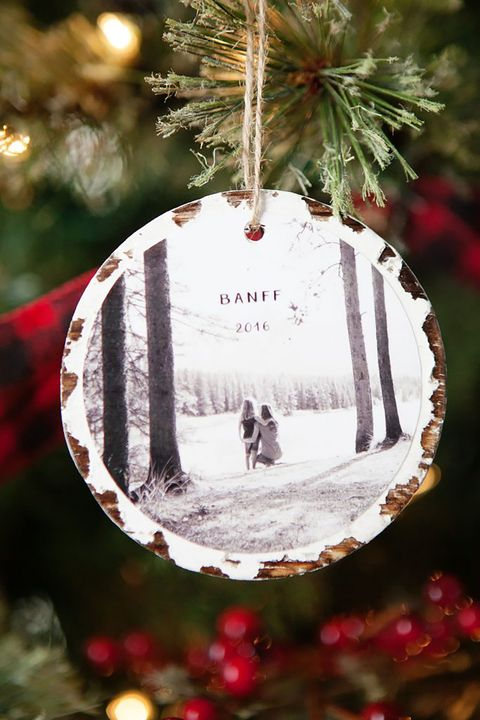 photo keepsake homemade christmas ornament