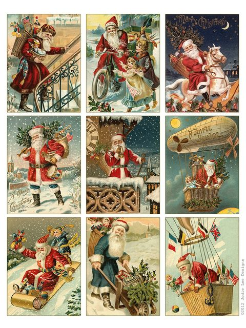 29 Free Christmas Printables - Christmas Cards and Gift Tags To Print