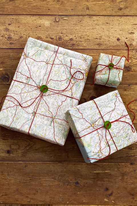 gift-wrapping ideas road map