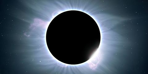 Astronomical object, Atmosphere, Outer space, Space, Corona, Celestial event, Colorfulness, Astronomy, World, Circle,