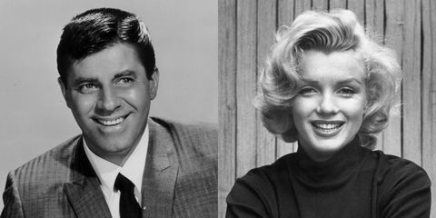 Jerry Lewis and Marilyn Monroe