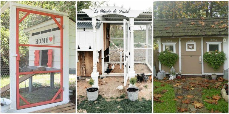 Chicken Coop Decorating Ideas - Chicken Coop Plans