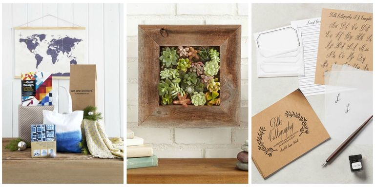 30 gifts for crafters christmas gift ideas for diyers this year put a do it yourself kit under the treebecause crafting a stamp fairy garden or embroidery hoop will keep them occupied long after all the solutioingenieria Gallery