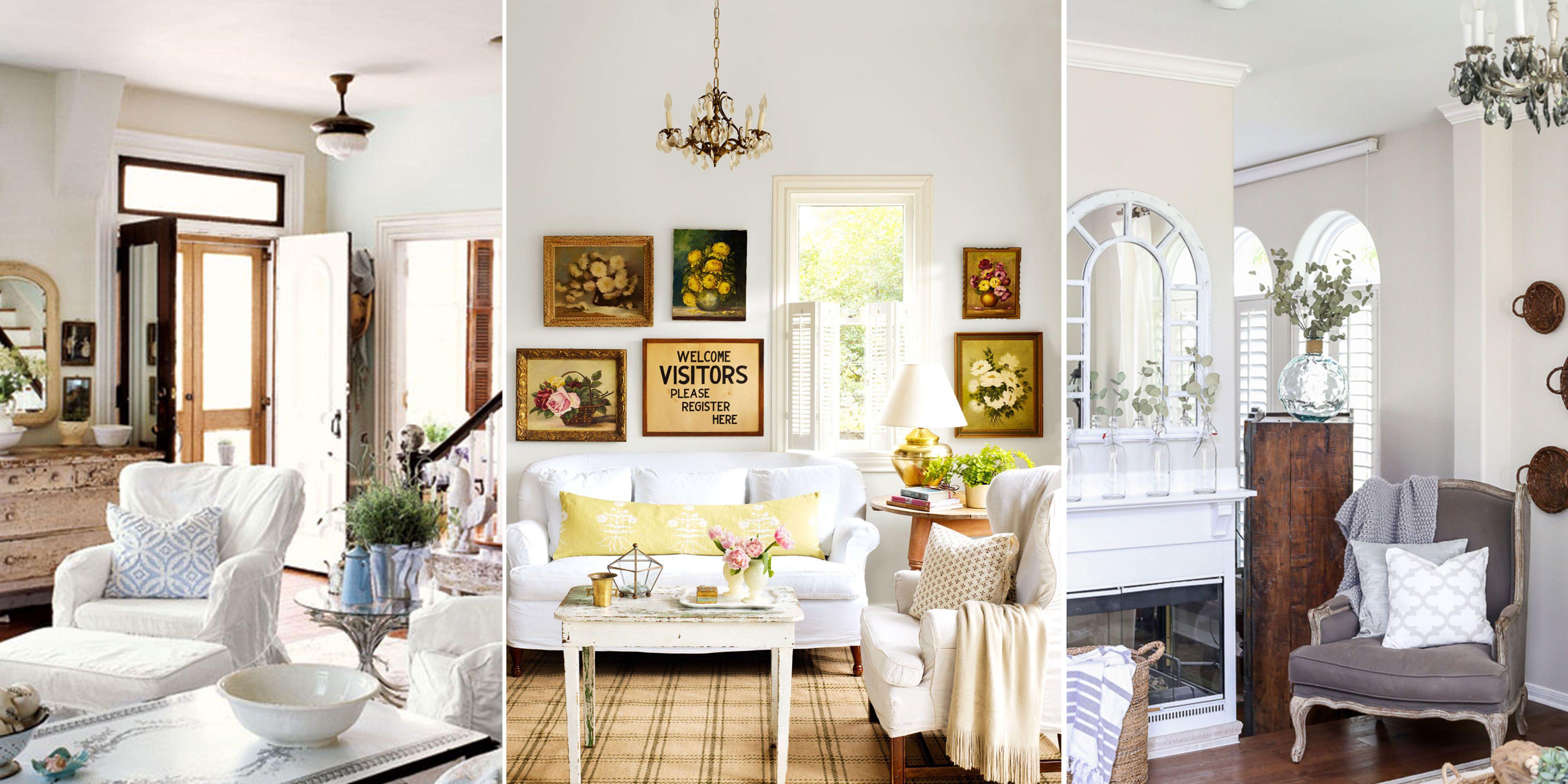 10 ShabbyChic Living Room Ideas Shabby Chic Decorating