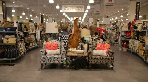 Retail, Boutique, Outlet store, Building, Interior design, Furniture, Floor,