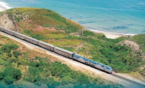 amtrak's coast starlight california