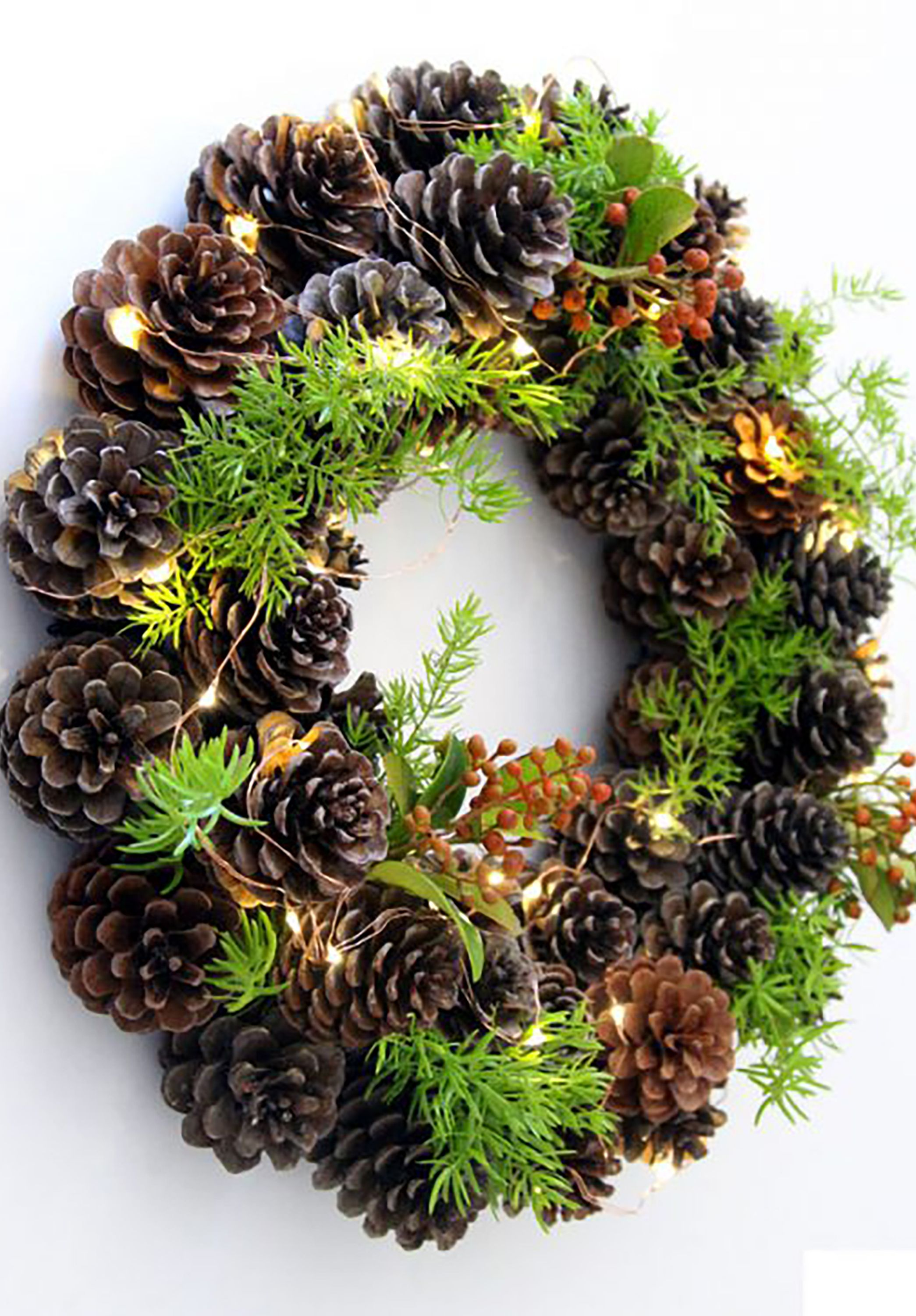 67 DIY Christmas Wreath Ideas - How To Make Holiday Wreaths Crafts