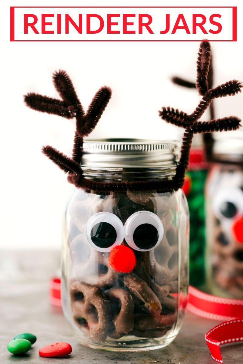 54 Mason Jar Christmas Crafts Fun Diy Holiday Craft Projects